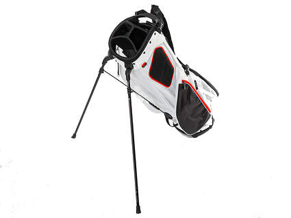 Brand New Titleist 2020 Players 4 Plus White/Black/Red Stand Single Strap Bag