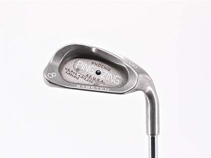 Ping Zing Single Iron 8 Iron Ping JZ Steel Stiff Right Handed Black Dot 36.5in