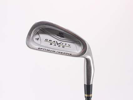 Cobra Gravity Back Single Iron 4 Iron 23.5° Cobra MSS Ultra Lightweight Graphite Regular Right Handed 38.5in