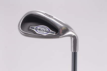 Callaway 2002 Big Bertha Single Iron 9 Iron Callaway RCH 65i Graphite Ladies Right Handed 35.0in