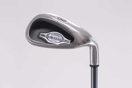 Callaway 2002 Big Bertha Single Iron 8 Iron Callaway RCH 65i Graphite Ladies Right Handed 35.5in