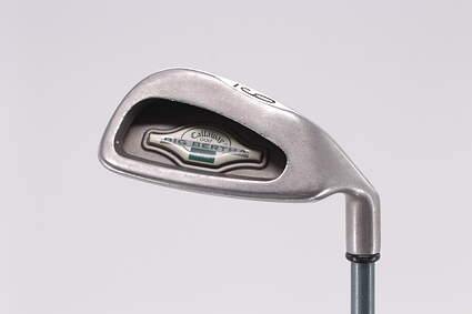 Callaway 1996 Big Bertha Single Iron 9 Iron Callaway Gems Graphite Ladies Right Handed 34.75in