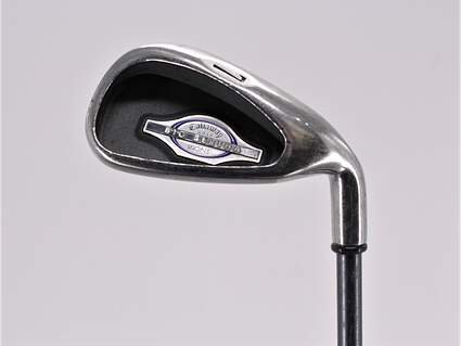 Callaway 2002 Big Bertha Single Iron 7 Iron Callaway RCH 65i Graphite Ladies Right Handed 36.0in