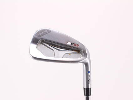 Ping S55 Single Iron 7 Iron Ping CFS Steel Stiff Right Handed Blue Dot 37.5in