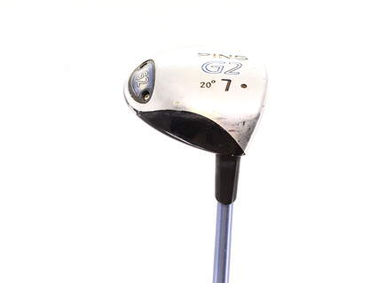 Ping G2 Fairway Wood 7 Wood 7W 20° Ping TFC 100F Graphite Senior Right Handed 41.25in