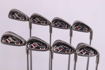 Ping G15 Iron Set 3-PW Ping AWT Steel Stiff Right Handed Green Dot 38.25in