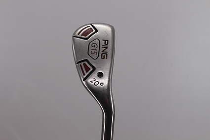 Ping G15 Hybrid 3 Hybrid 20° Aldila Serrano 85 Hybrid Graphite Stiff Right Handed 39.5in