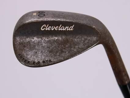 Cleveland 588 RTX 2.0 RTG Wedge Lob LW 60° W Grind True Temper Dynamic Gold Steel Wedge Flex Right Handed 35.0in