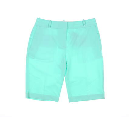 New Womens Fairway & Greene Golf Shorts 2 Green MSRP $95 E12183