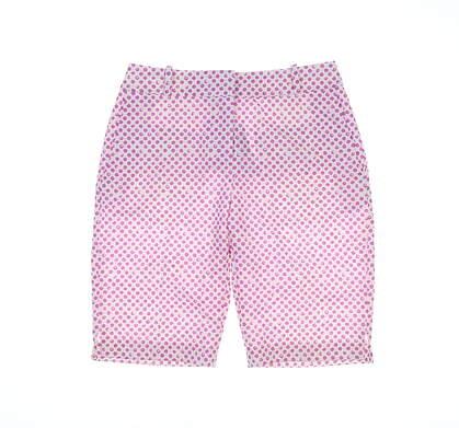 New Womens Fairway & Greene Golf Shorts 2 Pink MSRP $105 G32283