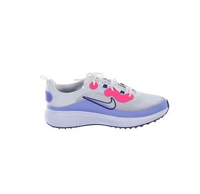 New Womens Golf Shoe Nike Ace Summerlite 10 White/Pink MSRP $100 DA4117 177