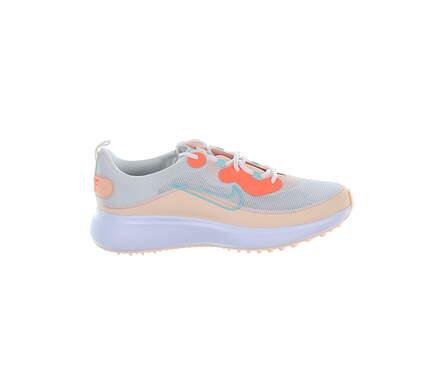 New Womens Golf Shoe Nike Ace Summerlite 10 White/Orange MSRP $100 DA4117 133