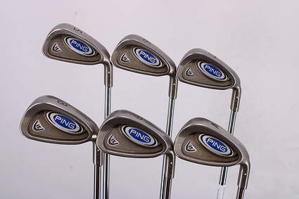 Ping i5 Iron Set 5-PW Ping AWT Steel Stiff Right Handed White Dot 37.75in