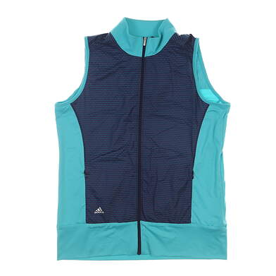 New Womens Adidas Golf Vest Medium M Multi MSRP $70