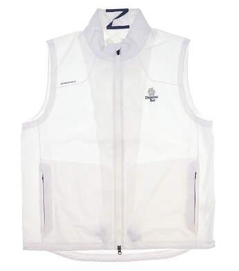 New W/ Logo Womens Zero Restriction Golf Vest X-Large XL White MSRP $190