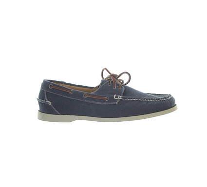 New Mens Golf Shoe Peter Millar Loafer 11.5 Blue MSRP $300 MS16F01 ATL