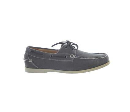 New Mens Golf Shoe Peter Millar Loafer 11 Gray MSRP $300 MS16F01