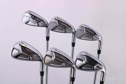 Mint Cleveland Launcher UHX Iron Set 5-PW True Temper Dynamic Gold DST98 Steel Stiff Right Handed +2 Degrees Upright 38.75in