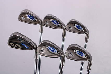Ping i5 Iron Set 5-PW Ping AWT Steel Regular Right Handed Black Dot 38.0in