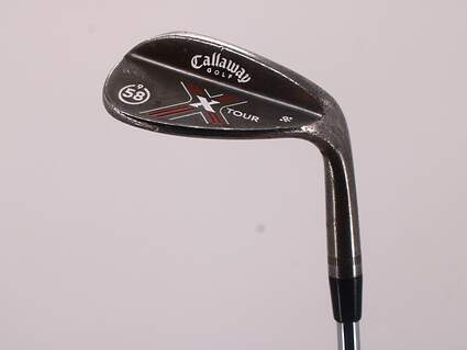 Callaway X-Tour Vintage Wedge Lob LW 58° 9 Deg Bounce R Grind Project X 5.5 Steel 5.5 Right Handed 34.25in