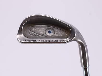 Ping Eye 2 Single Iron 6 Iron Stock Steel Shaft Steel Regular Right Handed Blue Dot 37.75in
