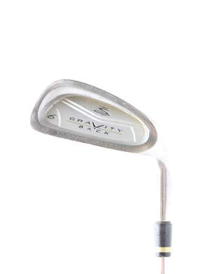 Cobra Gravity Back Single Iron 6 Iron Stock Steel Shaft Steel Regular Right Handed 37.25 in