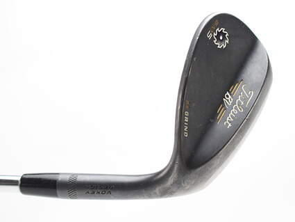 Titleist Vokey SM5 Raw Black Wedge Lob LW 58* 8 Deg Bounce Dynamic Gold X100 Steel X-Stiff Right Handed 34.5 in M grind