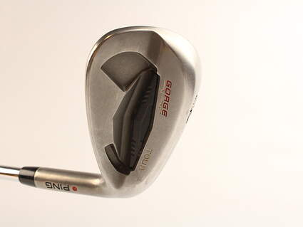 Ping Tour Gorge Wedge Sand SW 54* Standard Sole Ping CFS Steel Stiff Right Handed Red dot 35.5 in
