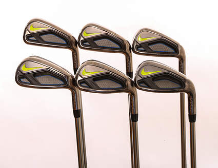 Nike Vapor Fly Iron Set 5-PW UST Mamiya Recoil 460 F2 Graphite Senior Right Handed 38.5 in