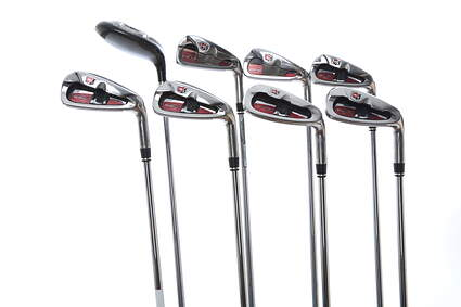 Wilson Staff Staff D-FY Iron Set 4H 5-PW SW Half & Half Graphite Regular Right Handed 38.5 in