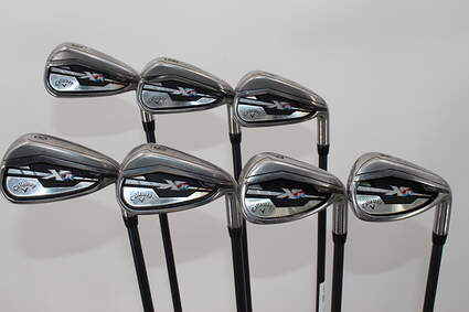 Callaway XR Iron Set 5-GW Project X 5.5 Graphite Black Graphite Regular Right Handed 39.0in