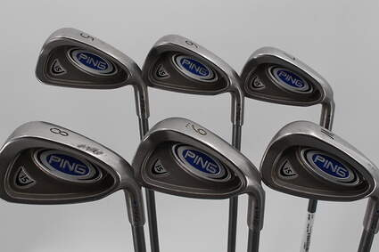 Ping i5 Iron Set 5-PW Ping TFC 100I Graphite Regular Right Handed Blue Dot 37.25in