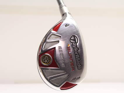 TaylorMade Burner Rescue 4 Hybrid 22° TM Reax Superfast 65 Graphite Regular Left Handed 39.75in