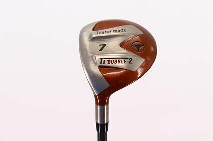 TaylorMade Ti Bubble 2 Fairway Wood 7 Wood 7W   TM Bubble 2 Graphite Regular Left Handed 42.25in