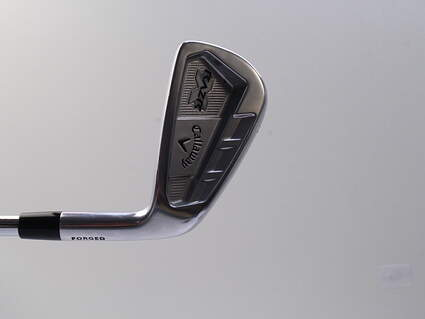 Callaway Razr X Forged Single Iron 6 Iron Project X Flighted 5.5 Steel Stiff Right Handed 37.5in