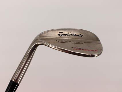 TaylorMade 2014 Tour Preferred Bounce Gap GW 52° 9 Deg Bounce True Temper Dynamic Gold S300 Steel Stiff Left Handed 35.75in