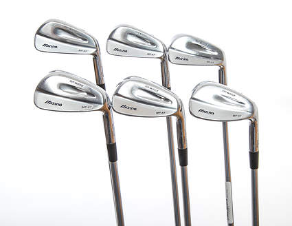 Mizuno MP 67 Iron Set 5-PW Project X Rifle Steel Stiff Right Handed 38.25in