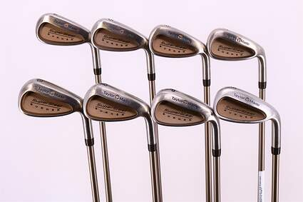 TaylorMade Supersteel Iron Set 4-PW SW TM Bubble Graphite Ladies Right Handed 37.0in