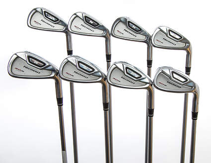 Nickent 3DX Pro Iron Set 3-PW Project X Rifle Steel Regular Right Handed 38.75in