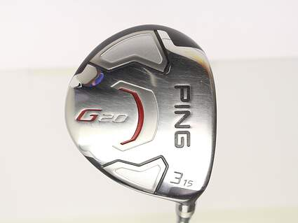 Ping G20 3 Wood 3W 15° Ping TFC 169F Tour Graphite Stiff Right Handed 42.75in