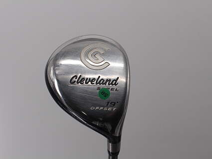 Cleveland Launcher Steel Offset Fairway Wood 5 Wood 5W 19° Stock Graphite Shaft Graphite Senior Right Handed 42.5in