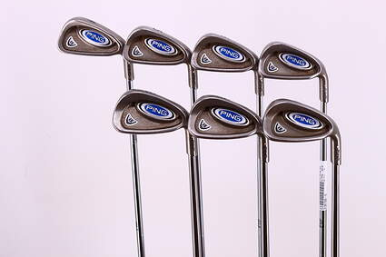 Ping i5 Iron Set 4-PW True Temper Steel Stiff Right Handed 38.25in
