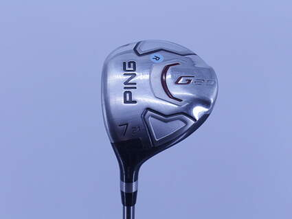 Ping G20 Fairway Wood 7 Wood 7W 21° Ping TFC 169F Graphite Regular Left Handed 41.25in