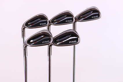 Ping G25 Iron Set 6-PW Ping CFS Steel Regular Left Handed Black Dot 37.0in
