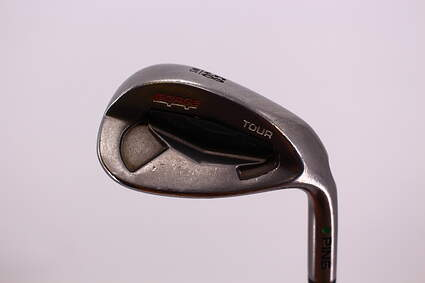 Ping Tour Gorge Wedge Lob LW 58° Wide Sole Ping CFS Steel Wedge Flex Right Handed Green Dot 35.25in