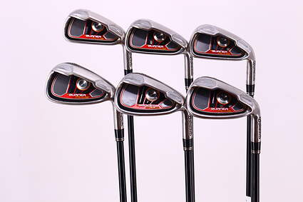 TaylorMade Burner Plus Iron Set 5-PW TM Reax Superfast 60 Graphite Regular Right Handed 38.75in
