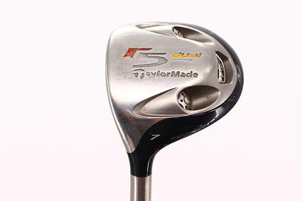 TaylorMade R5 Dual Fairway Wood 7 Wood 7W TM M.A.S.2 55 Graphite Regular Left Handed 42.0in