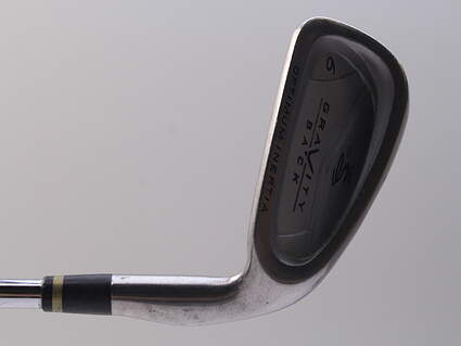 Cobra Gravity Back 6 Iron Stock Steel Shaft Steel Stiff 37.5in