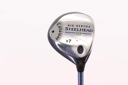 Callaway Steelhead III 7 Wood 7W Callaway System III Graphite Ladies Right Handed 41.0in