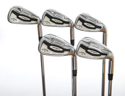 Callaway Apex Pro 16 Iron Set 6-PW Project X Rifle 6.0 Steel Stiff Right Handed 37.25in